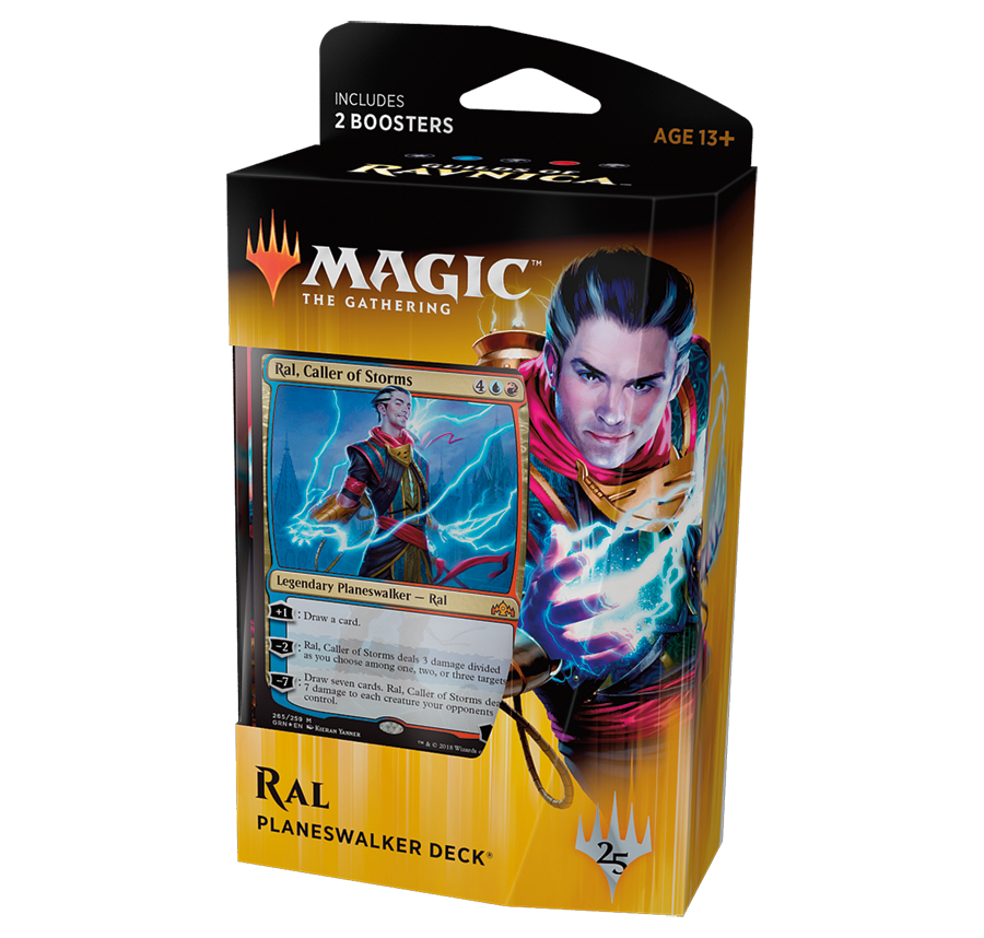 Колода Planeswalker'а «Guilds of Ravnica»: Ral Zarek (английский)
