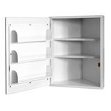 Шкаф медицинский для фармпрепаратов настенный ШМФ-01  (мод.11)
