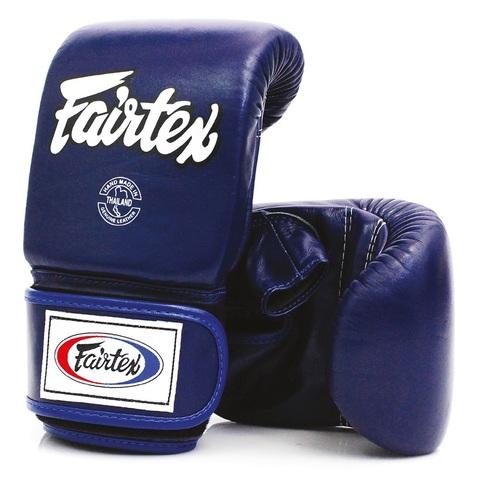 Перчатки снарядные Fairtex Bag gloves TGO3 Blue
