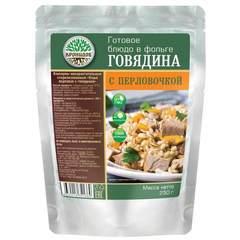 Перловая каша с говядиной 'Кронидов', 250г