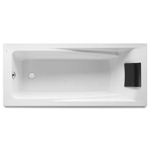 Ванна акриловая прямоугольная Hall 1700х750х420 Roca с монтажным комплектом ZRU9302768