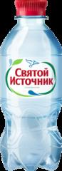 """Вода """"Святой источник"""" питьевая газированная 0,33 л"""