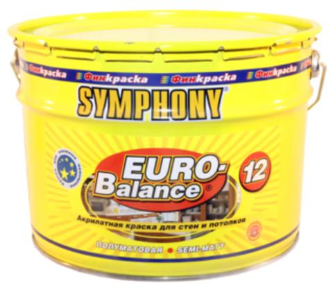 SYMPHONY EURO-Balance 12 - акрилатная полуматовая краска