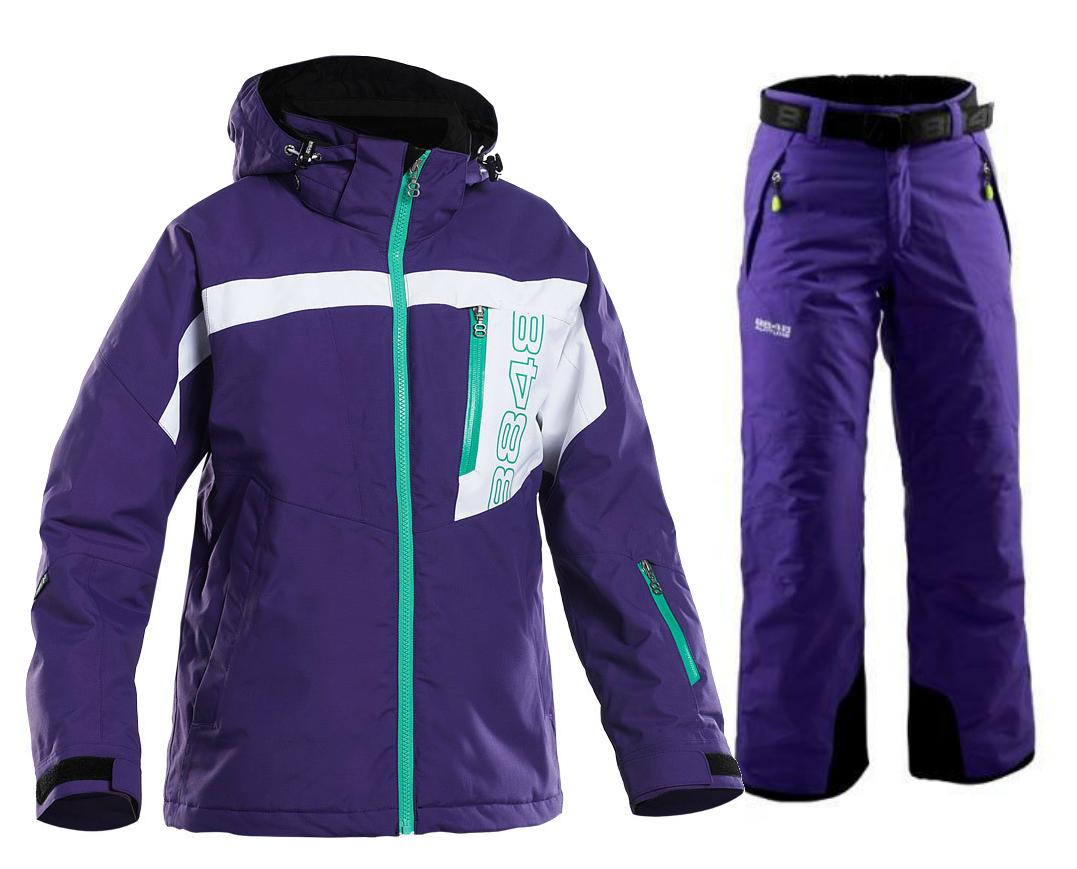 Детский горнолыжный костюм 8848 Altitude Coy/Inca purple