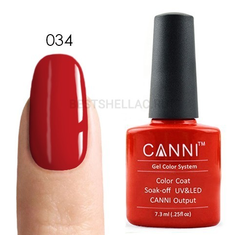 Canni Canni, Гель-лак 034, 7,3 мл 034.jpg
