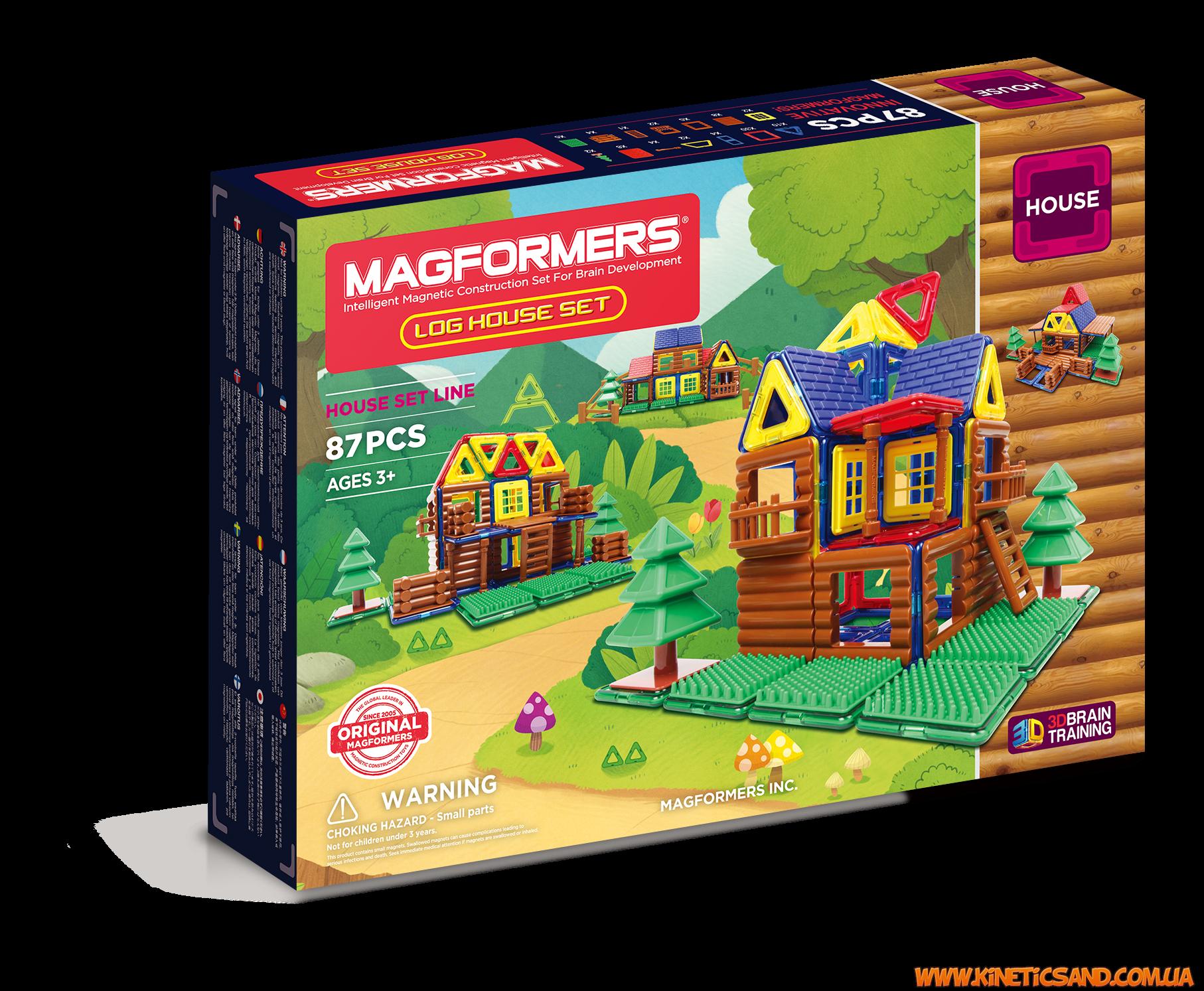 Magformers Мой домик в лесу, 87 элементов