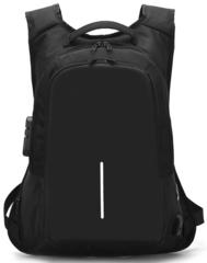 Рюкзак Антивор с кодовым замком FS-8238 USB Черный
