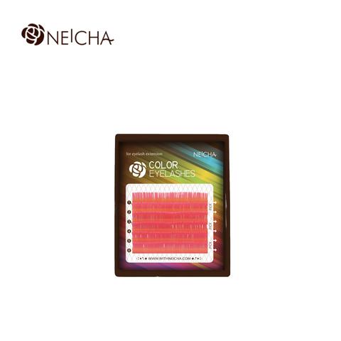 Ресницы NEICHA нейша цветные 6 линий MIX розовый PINK