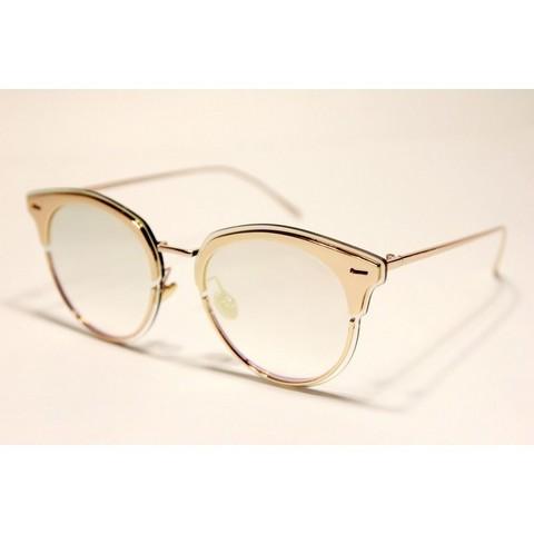 Солнцезащитные очки 17021001s Золотые зеркальные