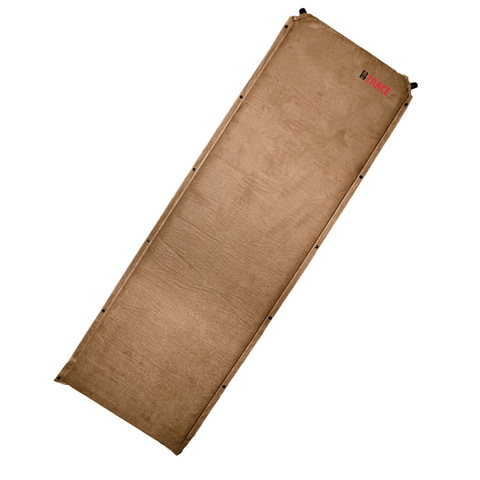 Коврик самонадувающийся BTrace Warm Pad 7 Large, 190х70х7 см (M0211) (коричневый)