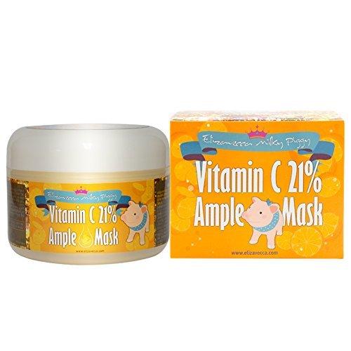 Elizavecca Маска д/лица витамин С Vitamin C 21% Ample Mask, 100 гр