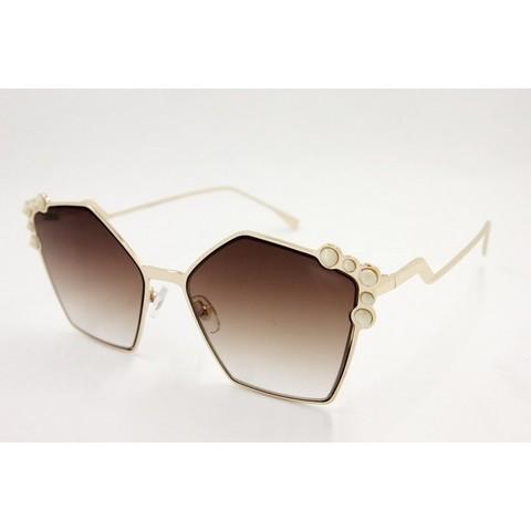 Солнцезащитные очки 17089001s Коричневые