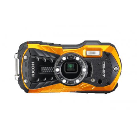 Водонепроницаемый фотоаппарат Ricoh WG-50 оранжевый