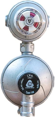 Автоматический клапан - редуктор (Италия)