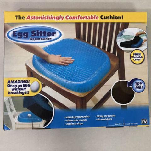 Силиконовая подушка Egg Sitter на сидение для снятия напряжения