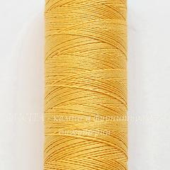 Нить шелковая Gutermann для вышивки, желтая, 100 м