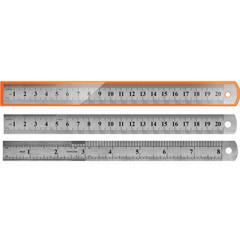 Линейка металлическая 20 см TZ 385