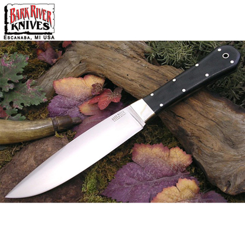 Нож Bark River Rogue модель Rogue Black Canvas Micarta