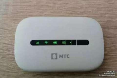 Huawei E5330 3G/Wi-Fi мобильный роутер (любая СИМ)