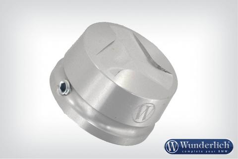 Алюминиевая крышка для системы Telelever BMW серебро/