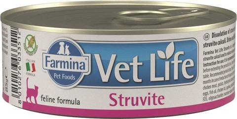 Беззерновые консервы Farmina Vet Life Natural Diet Cat Struvite
