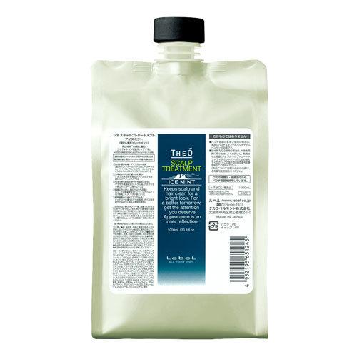 Lebel TheO Scalp Treatment Ice Mint - Крем-уход для волос и кожи головы