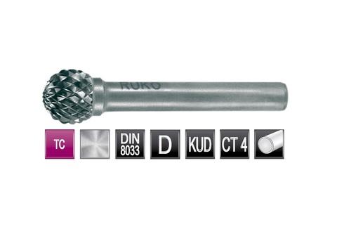 Бор-фреза твердосплавная D(KUD) 16,0х14,4x6x54мм HM Ruko 116045