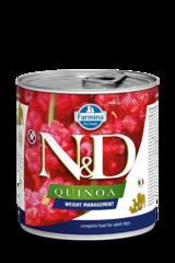 Фармина Quinoa N&D 285 гр консервы для собак контроль веса