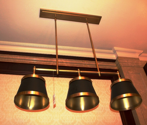 brass pendant 01-57  ( BRITISH LIGHTS)