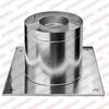 Потолочно-проходной узел d150мм (430/0,5мм+термо) Ferrum