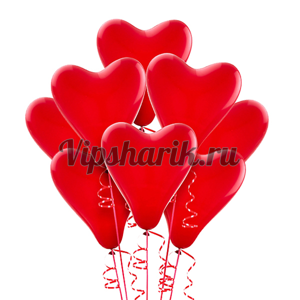 Шары В форме сердца