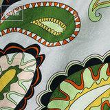 Плательно-блузочный жаккардовый шелк с растительным мотивом