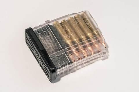 Магазин Pufgun Вепрь-308 на 10 патронов, прозрачный