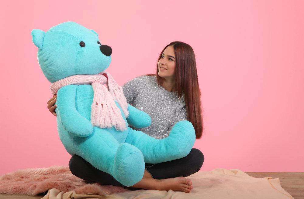 a50009606c9d28 Мягкая игрушка большой медведь - тиффани 1,5м - купить по выгодной ...