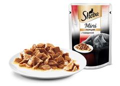 Sheba mini с говядиной 50гр
