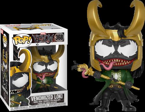 Фигурка Funko Pop! Marvel: Marvel Venom - Venomized Loki (Excl. to Target)
