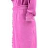Элитный халат велюровый Ariel ярко-розовый от Vossen