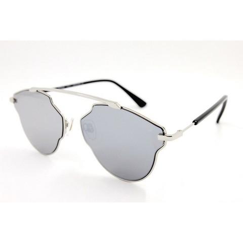 Солнцезащитные очки 17090001s Серебряные зеркальные