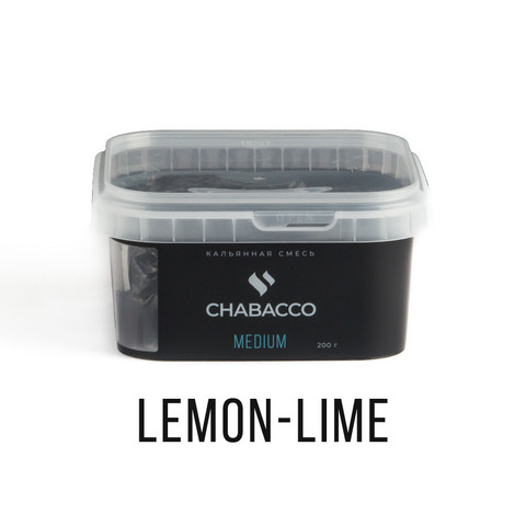 Chabacco 200гр - Lemon-lime (Лимон-лайм)
