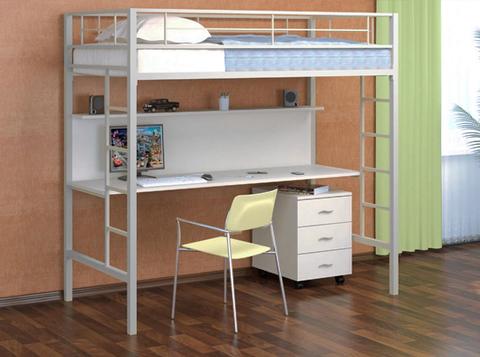 Кровать чердак с рабочей зоной Севилья 1