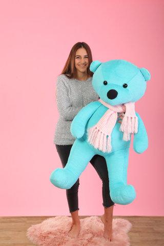 М'яка іграшка великий ведмідь-тіфані 1,5м