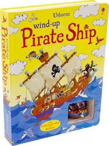 Wind-up Pirate Ship