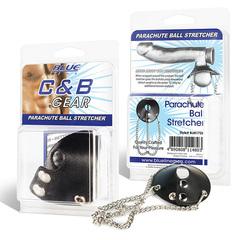 Утяжка для мошонки с цепочками BlueLine PARACHUTE BALL STRETCHER