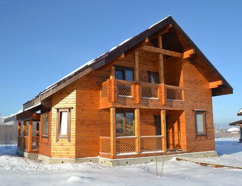 """Дом из бруса """"МД-Б-174"""" 174 кв.м."""