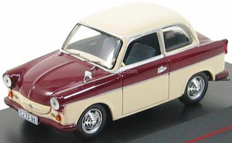Model Cars Trabant P50 Limousine Red-Beige 1958 Ist029 Ist Models 1:43