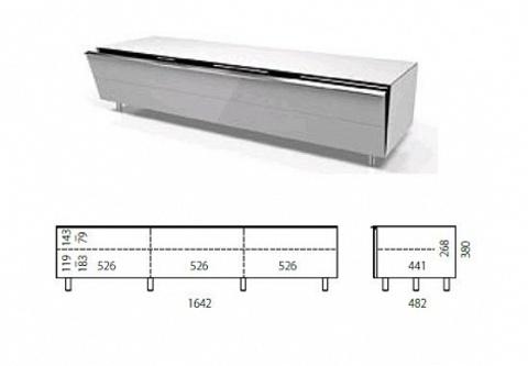 Spectral SC1650 SNG, тумба под аудио/видео аппаратуру