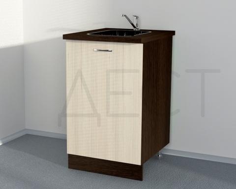 Стол кухонный под мойку ЭДИНА 500 правый