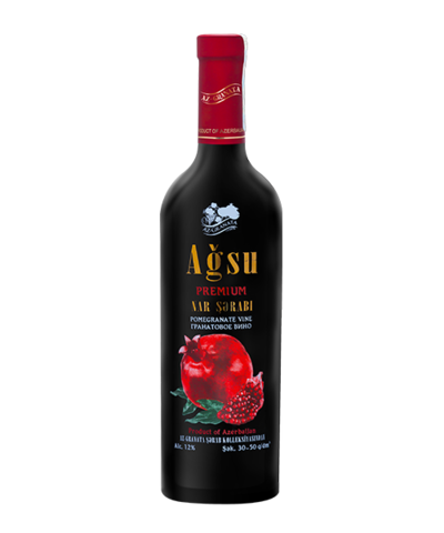 "Pomegranate wine ""Agsu""  750 ml"
