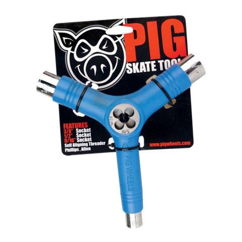 Ключ PIG Skate Tool (Blue)