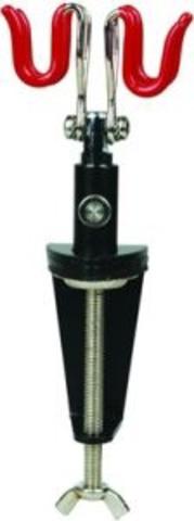 Подставка для 2х аэрографов металлическая струбцина (JAS)
